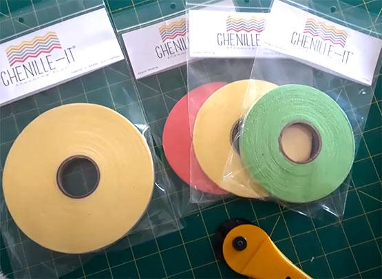 Chenille-It Strips