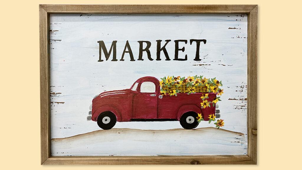 Fall Truck Acrylic Painting Class