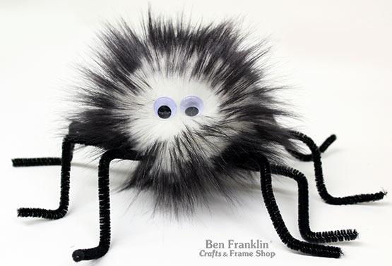 Make a Furry Spider