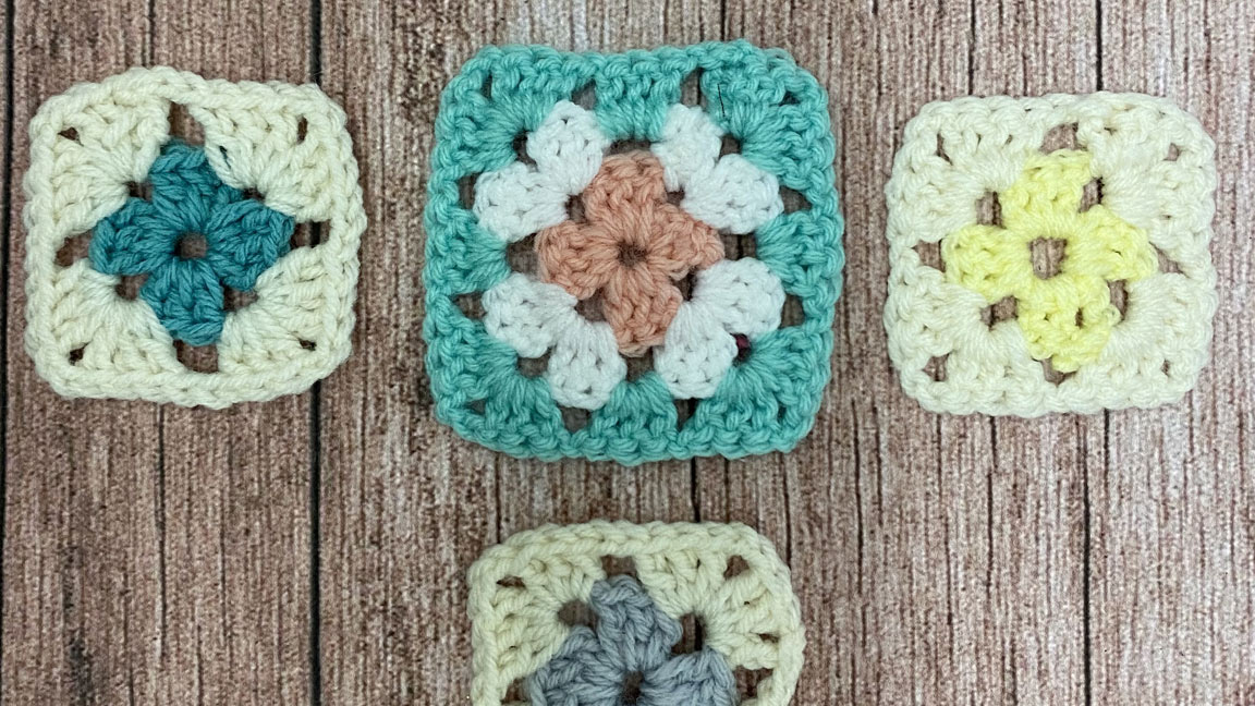 Granny Squares Crochet