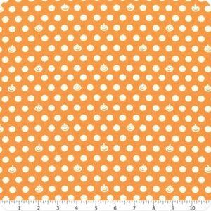 Retro Halloween fabric Y3249-69 dk gold