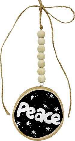 Wood Round Ornament