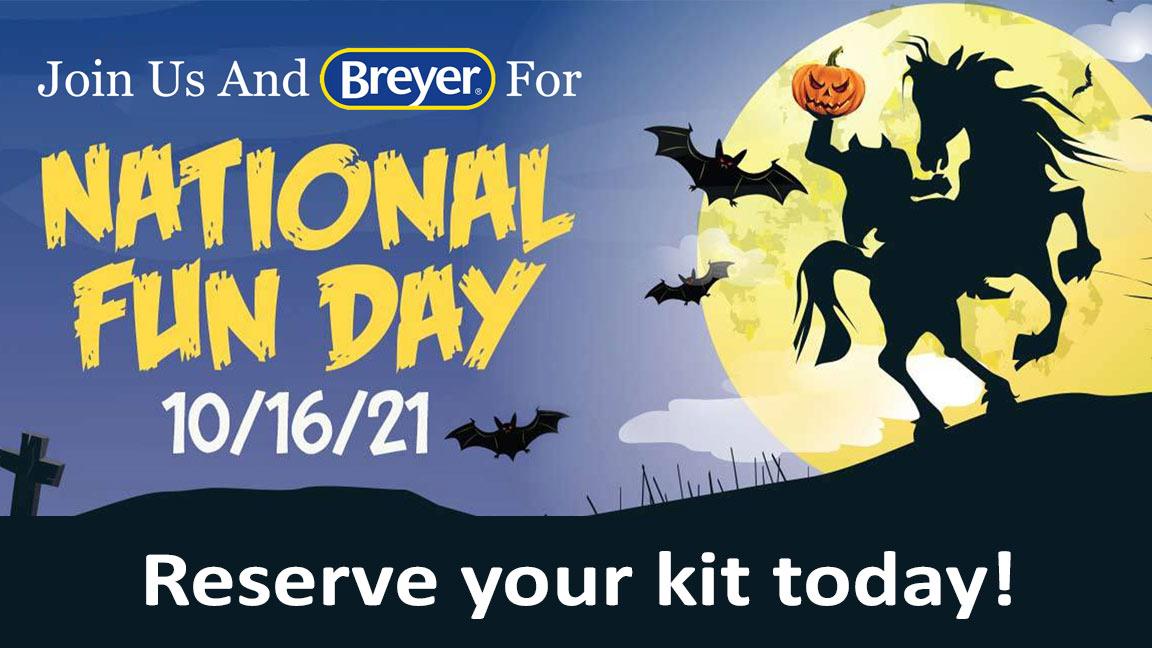 Breyer National Fun Day 2021