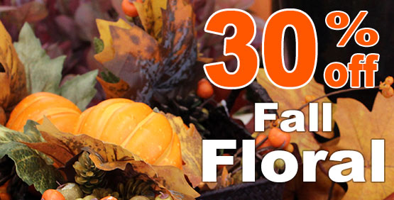 Fall Floral Sale