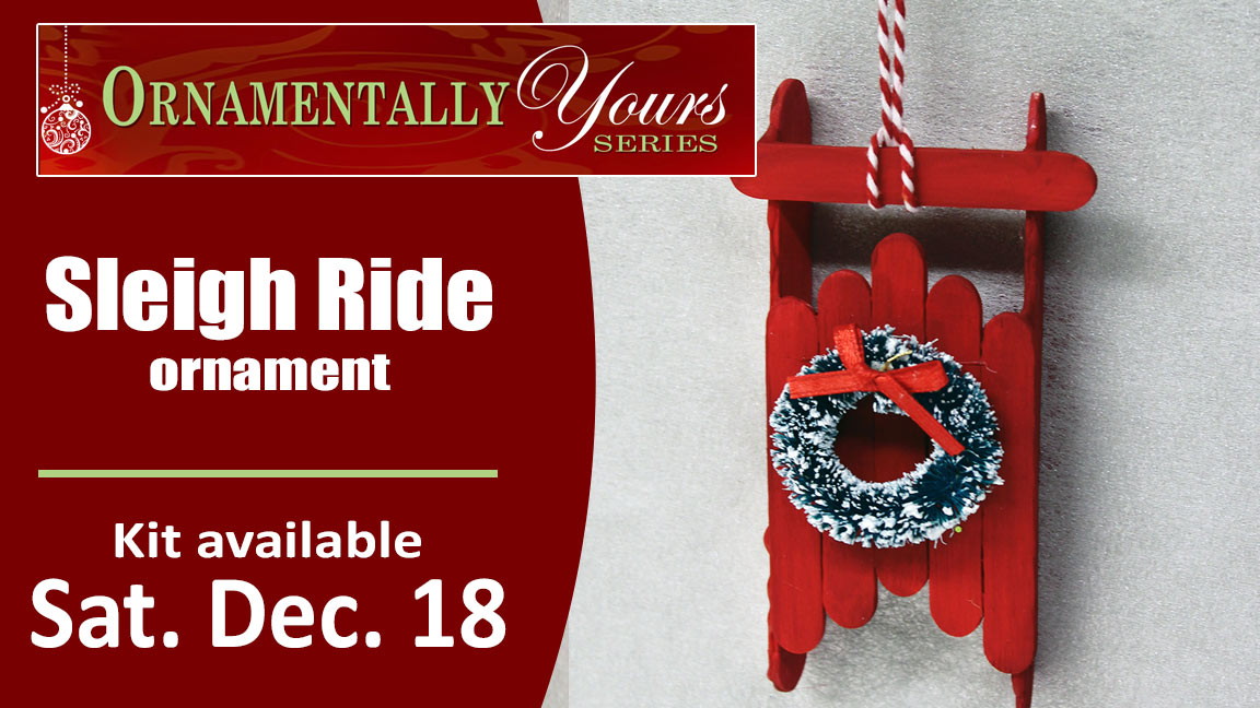 Ornamentally Yours Sleigh Ride