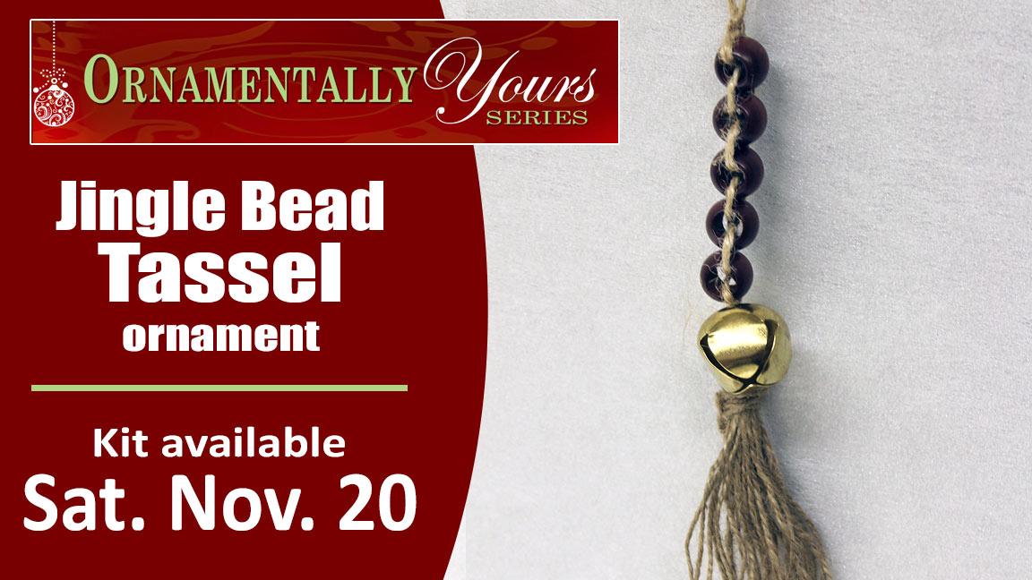 Ornamentally Yours Jingle Bead Tassel