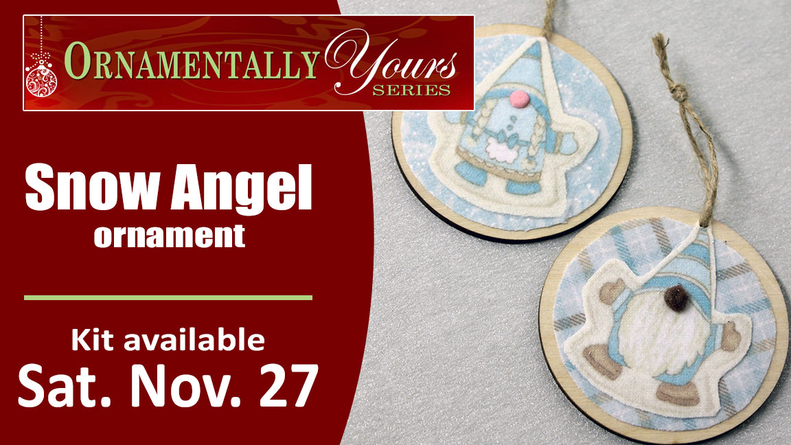 Ornamentally Yours Snow Angels