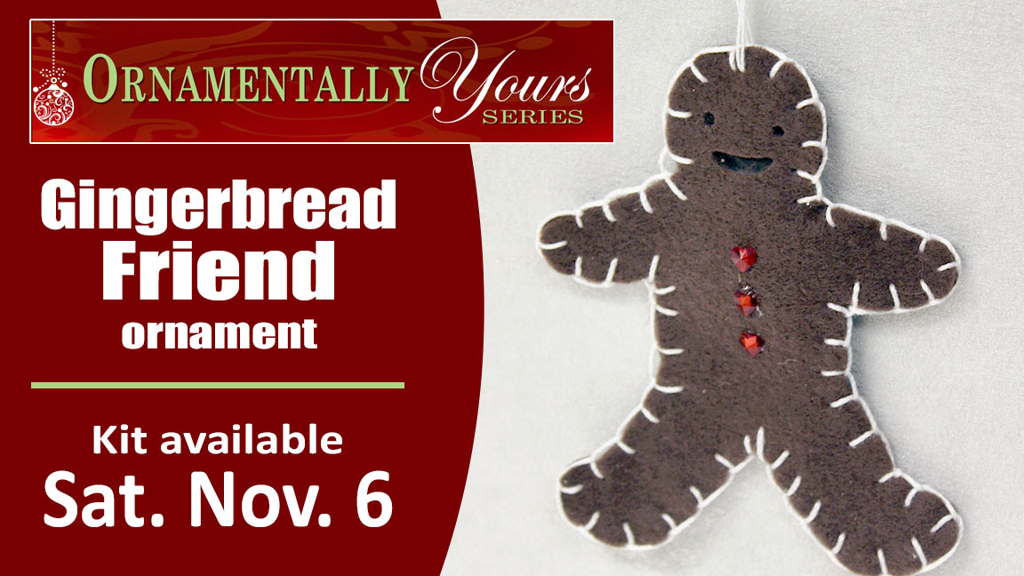 Ornamentally Yours Gingerbread Friend