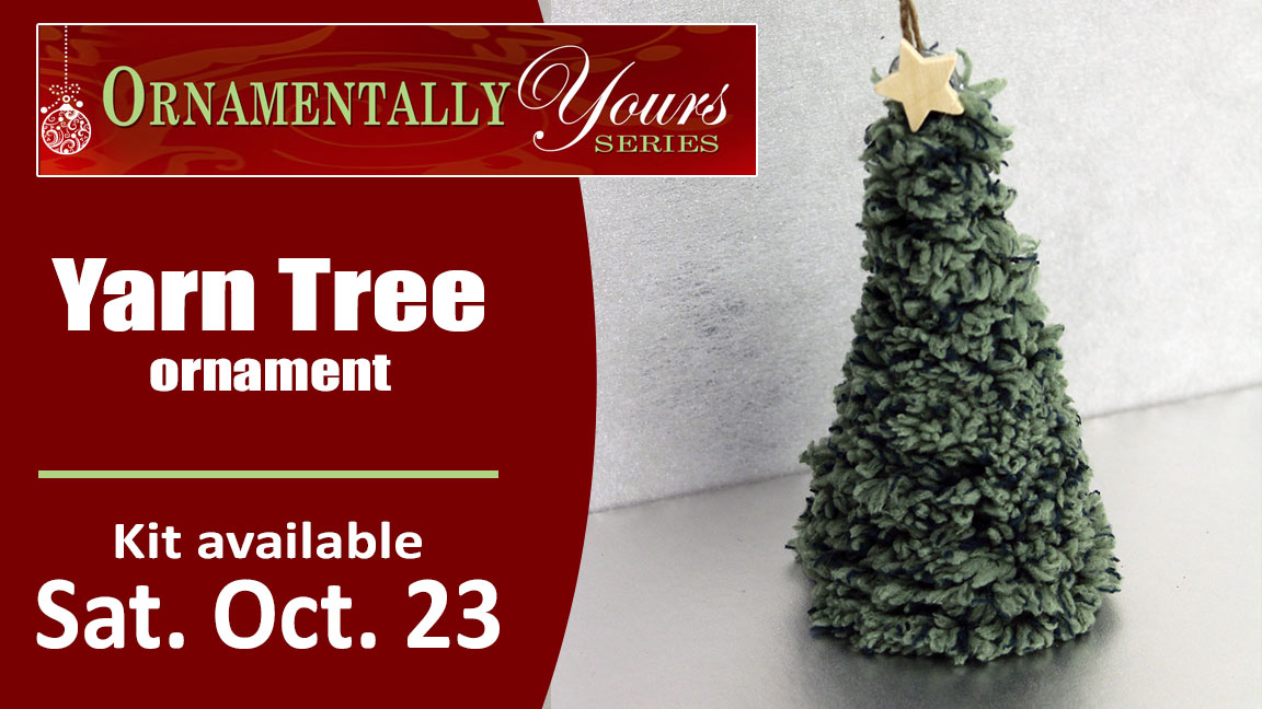 Yarn Tree Ornament