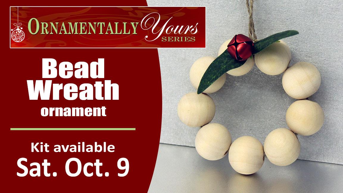Ornamentally Yours Bead Wreath